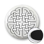 Celtic Paper Cutout Knot Magnets