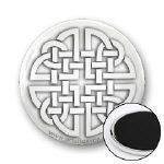 Celtic Paper Cutout Knot Magnets