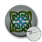 Celtic Agate Knot Buttons