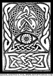 Celtic Knotwork All-Seeing Eye
