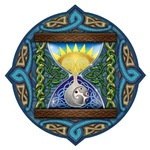 Celtic Sun-Moon HourGlass
