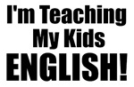 I'm Teaching My Kids English