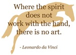 da Vinci spirit - quote & jumper horse