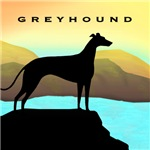 Greyhound by the Sea T-shirts & Gifts