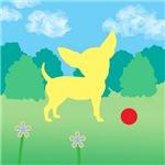 Yellow Chihuahua Landscape