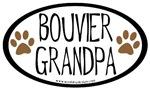 Bouvier Grandpa Oval