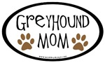 Greyhound Mom Oval