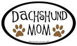 Dachshund Mom Oval