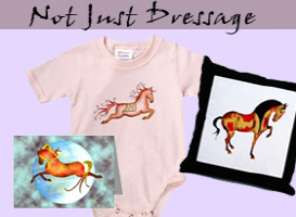 Not Just Dressage t-shirts & gifts