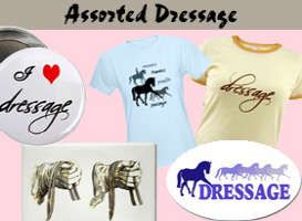 Assorted Dressage t-shirt & gift items