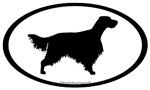 English Setter Oval