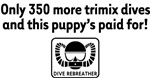 Trimix Rebreather on White
