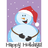 Happy Holiday Snowman T-Shirts Gifts