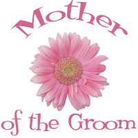 Mother of the Groom Wedding Apparel Pink Daisy