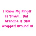 Grandpa Wrapped Around Finger