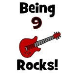 Being 9 Rocks! Guitar