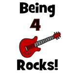Being 4 Rocks! Guitar