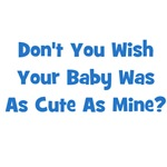 Baby Cute As Mine - Blue