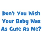 Baby Cute As Me - Blue