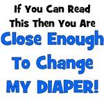 Change My Diaper! Blue
