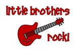 Little Brothers Rock! red guitar
