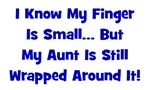 Aunt Wrapped Around Finger - Blue