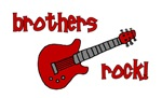 Brothers Rock! Red Guitar