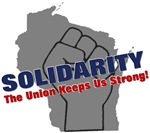 Solidarity - Grey State - Fist