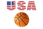 USA Basketball t-shirts