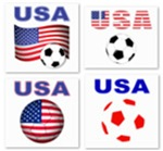 USA World Cup T-Shirts