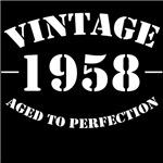 vintage 1958 birthday