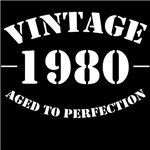 vintage 1980 birthday