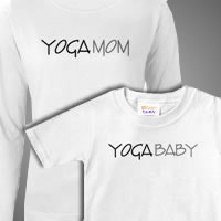 yoga mom and baby matching sets