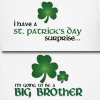 st. patrick's day brother shamrock