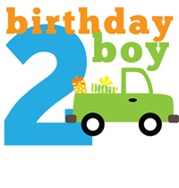Truck Birthday Boy 2