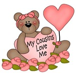 My Cousins Love Me CUTE Bear