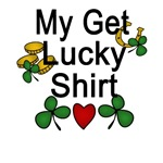 Get Lucky Funny T-shirt