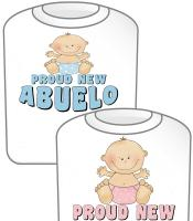 Proud New Abuelo T-shirt Design