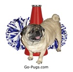 Go-Pugs Logo Items