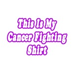 This Is My Cancer Fighting Shirt (Purple)