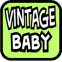 Vintage Baby Items