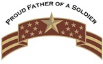 Proud Father of a Soldier, Stars & Stripes©, Deser