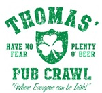 Thomas' Irish Pub Crawl