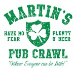 Martin's Irish Pub Crawl