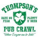 Thompson's Irish Pub Crawl