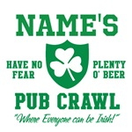 Custom Irish Pub Crawl