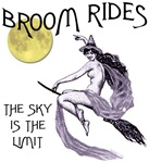 Broom Rides Witch