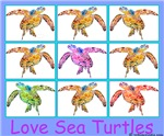 Sea Turtle Designs