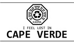 I feel LOST in Cape Verde tee shirts