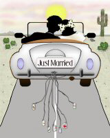 Just Married T-Shirts Apparel & Gifts